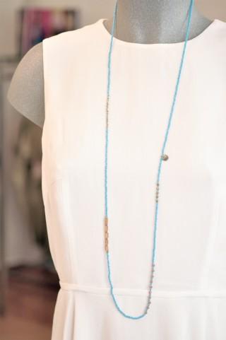 Bluebell-Kette türkis