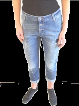 helle destroyed Jeans