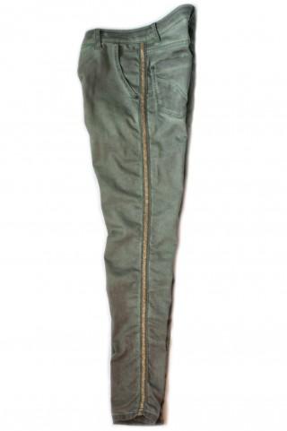 grüne athleisure Jeans